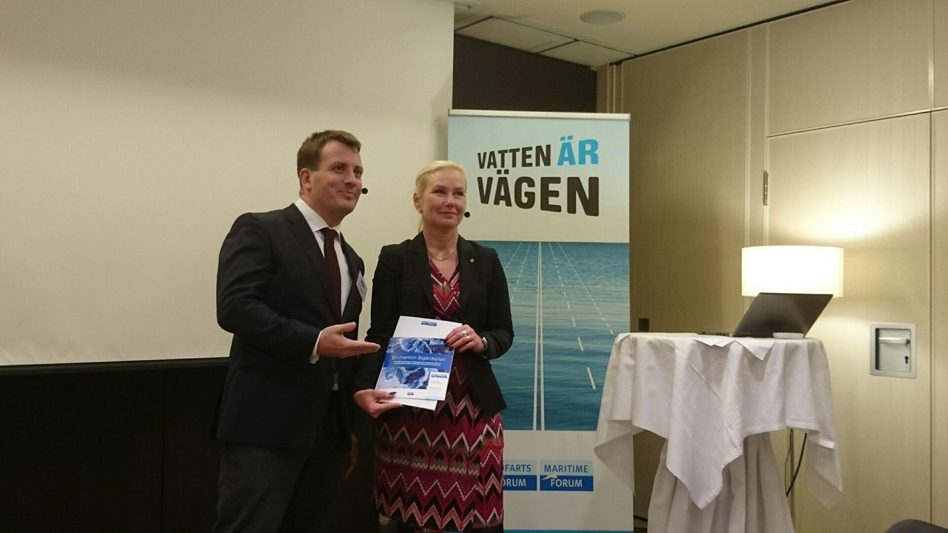 SMTF bidrar till den maritima handlingsplanen