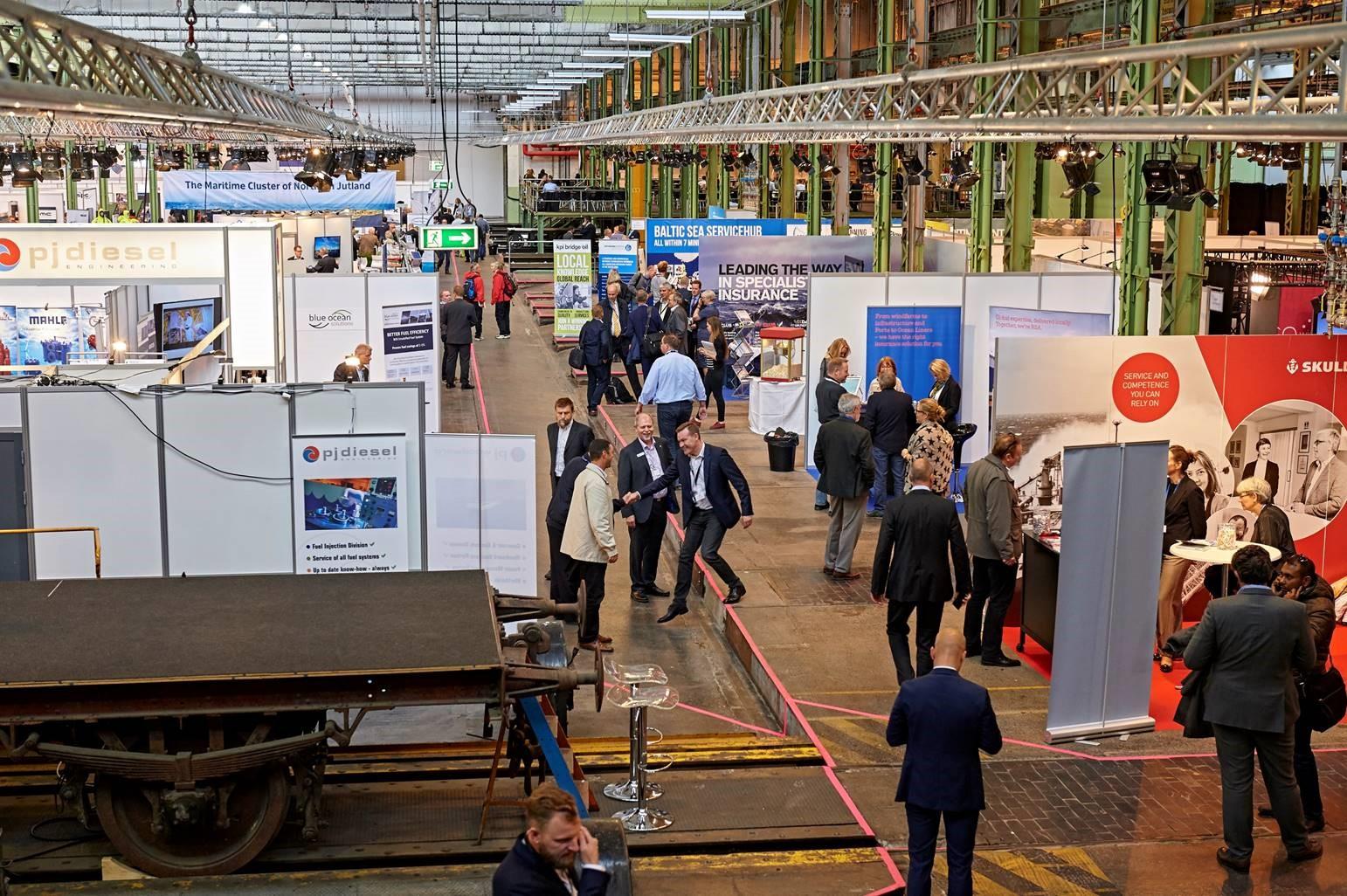 Välkomna till svenska paviljongen och en fullbokad Danish Maritime Fair!