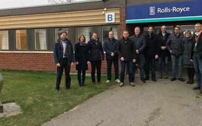 Studiebesök- och workshopresa till Rolls-Royce i Kristinehamn