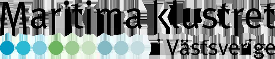 Maritima klustret i Västsverige logo