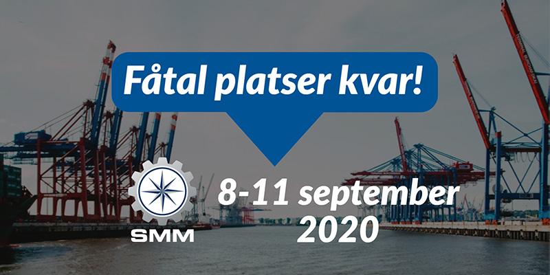 Svensk paviljong på SMM 2020