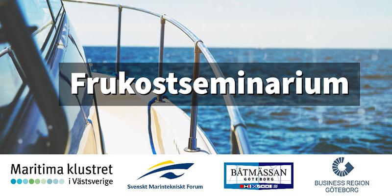 Frukostseminarium på Båtmässan februari 2020